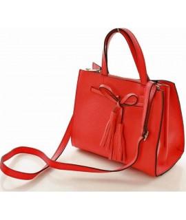 Červená kabelka 1cf635a2e35
