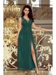 Dlhé zelené šaty
