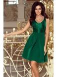 Krásne zelené šaty