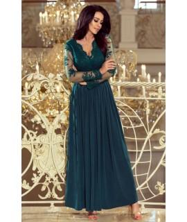 4a4b0ed901fc Zelené večerné šaty
