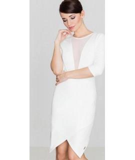 8e38f27ee2 Elegantné biele šaty
