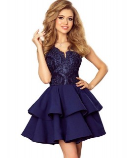6cd39c831a4a Luxusné modré šaty