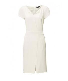 31af1b2fe935 Biele púzdrové šaty PATRIZIA DINI
